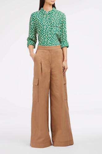 women beige pants