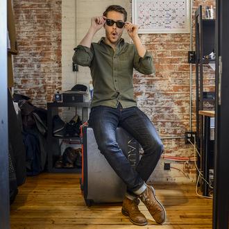 blogger i am galla suitcase mens shirt mens shoes