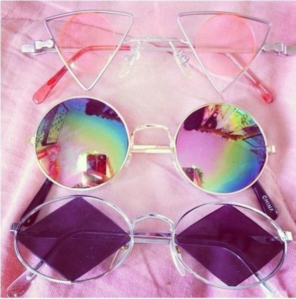sunglasses grunge clear