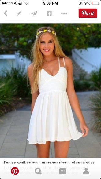 dress short flowy