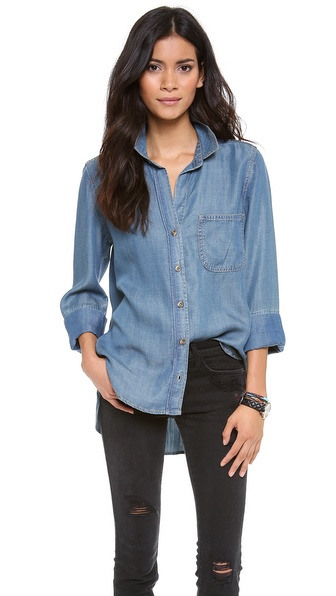 Bella Dahl Button Down Shirt | SHOPBOP