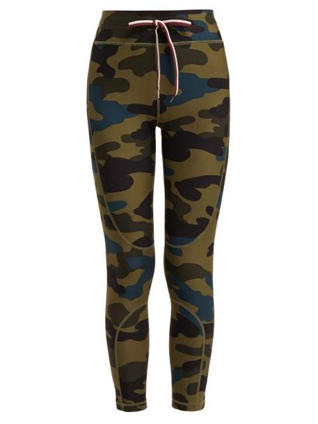 leggings camouflage print pants