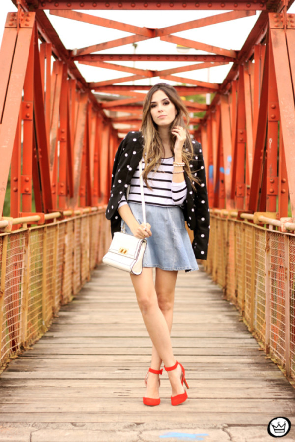 fashion coolture blogger top jacket bag