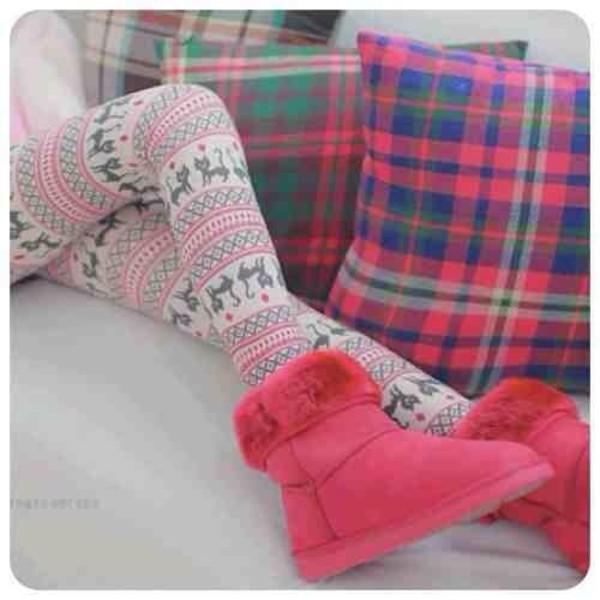 leggings pattern cozy tights aztec