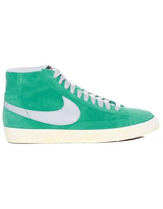 Nike Blazer Mid PRM VNTG - Atomic Teal - Trainers from I Consume UK
