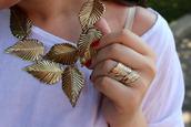 jewels,gold,ring,leaves,leaf/design,necklace