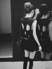 shirt,black,blouse,black t-shirt,black blouse,dress,grunge,soft grunge,little black dress,skeleton,scene,tumblr,tank top,punk,face outline top,t-shirt,black shirt,emo,top,skull,girl,ripped,baggy top