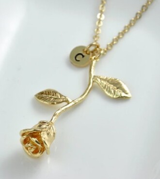 jewels jewelry rose gold necklace cute pretty dainty jewelery gold chain gold necklace