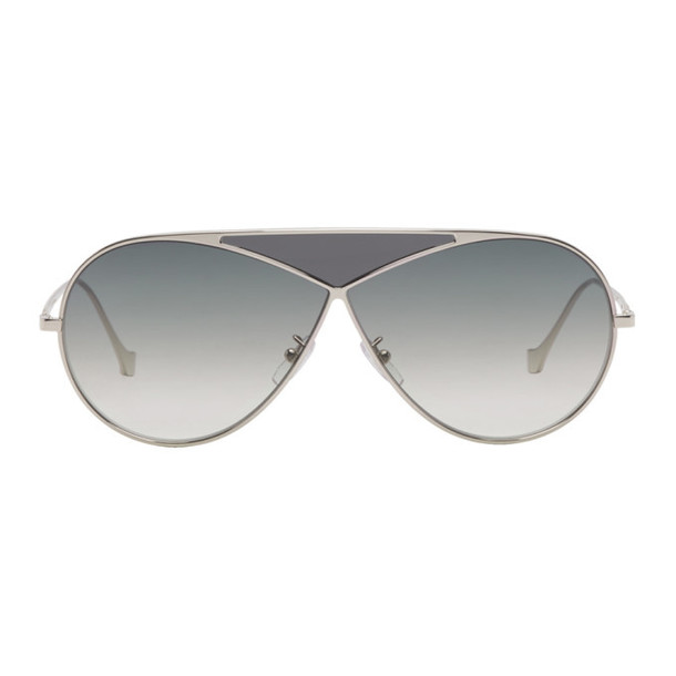 Loewe Silver Pilot Puzzle Sunglasses