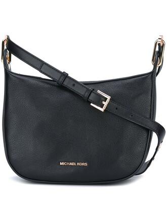 long bag shoulder bag black