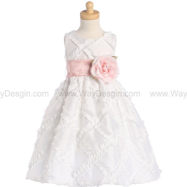 white dress dress flower girl dress