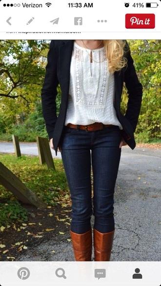 blouse white blouse shoes cardigan