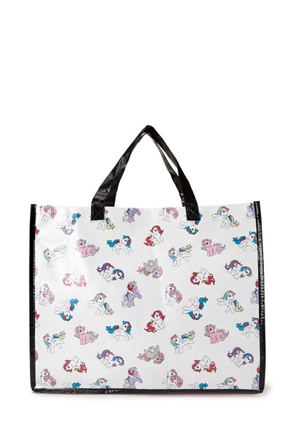 bag white mlp my little pony tote bag