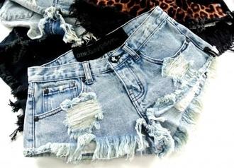 shorts demin ripped shorts distressed denim shorts ripped denim summer blue shorts