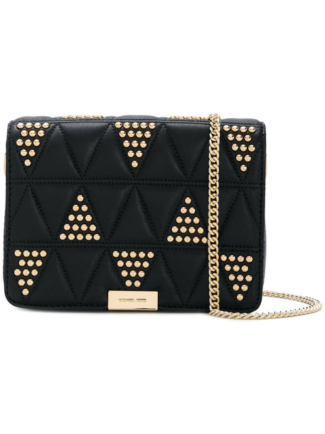 MICHAEL Michael Kors studded women quilted black bag