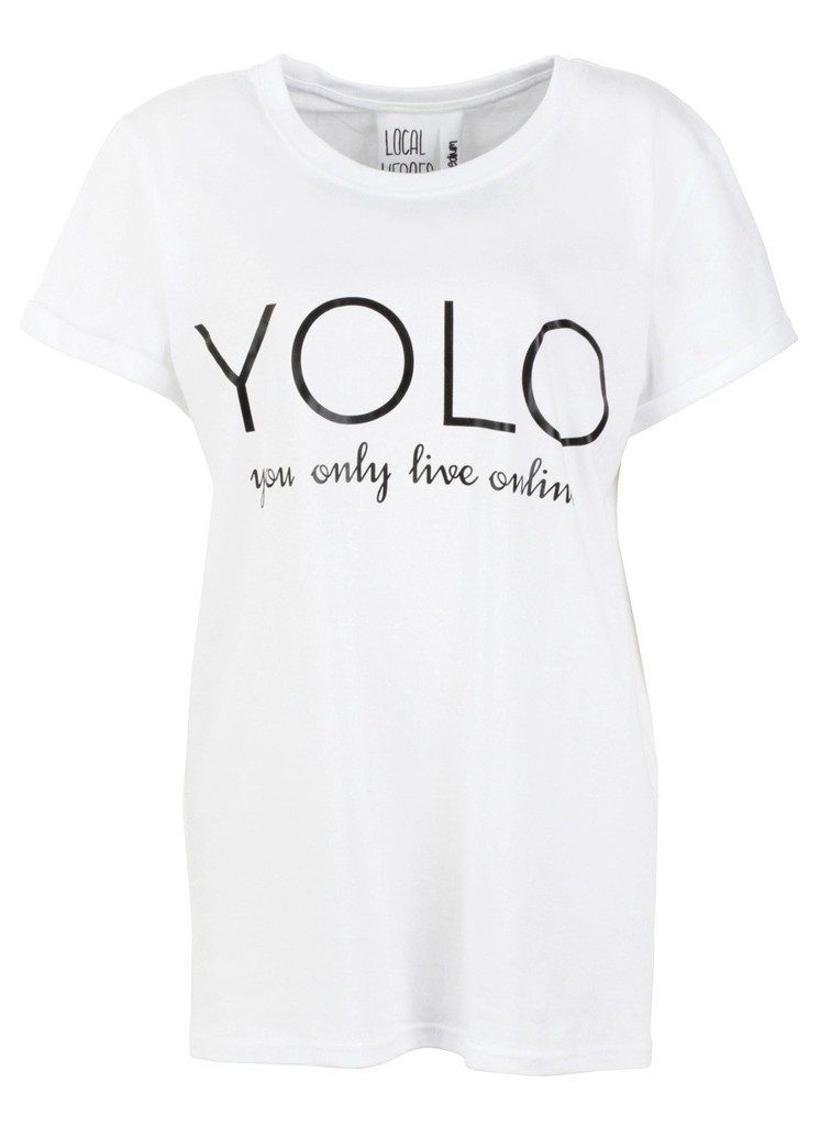 You only live online tee
