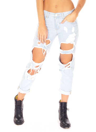 Ripped jeans | Babyboo