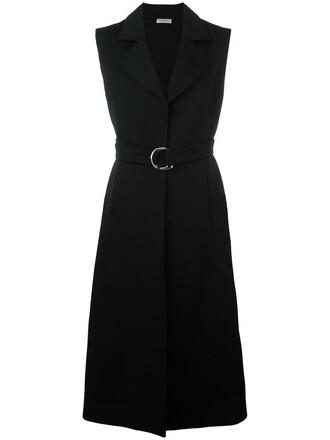 coat sleeveless coat sleeveless women cotton black wool
