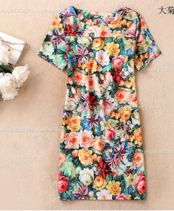 2014 New Fashion Women and Ladies Cotton Blend Casual Short Sleeve Summer Sundress Mini Dress Candy Red Black Pink Dresses | Amazing Shoes UK