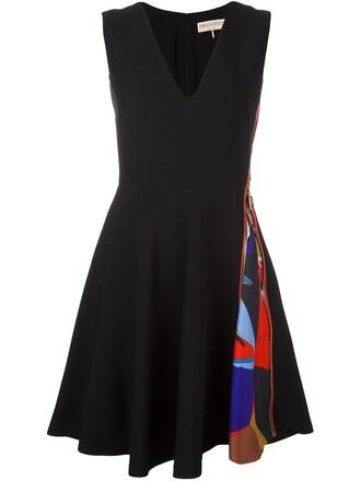 dress flare dress flare fit black