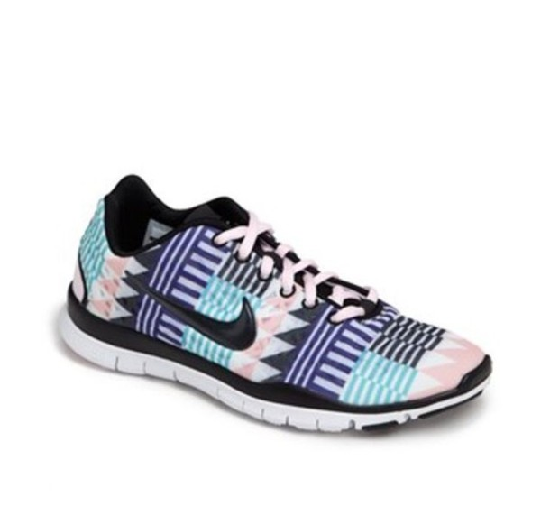 shoes nike nike running shoes aztec tribal pattern edit tags
