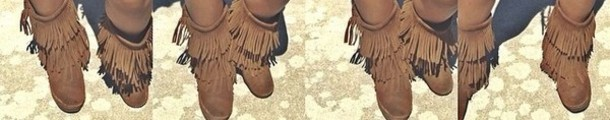 shoes brown boots amourjayda fringe shoes