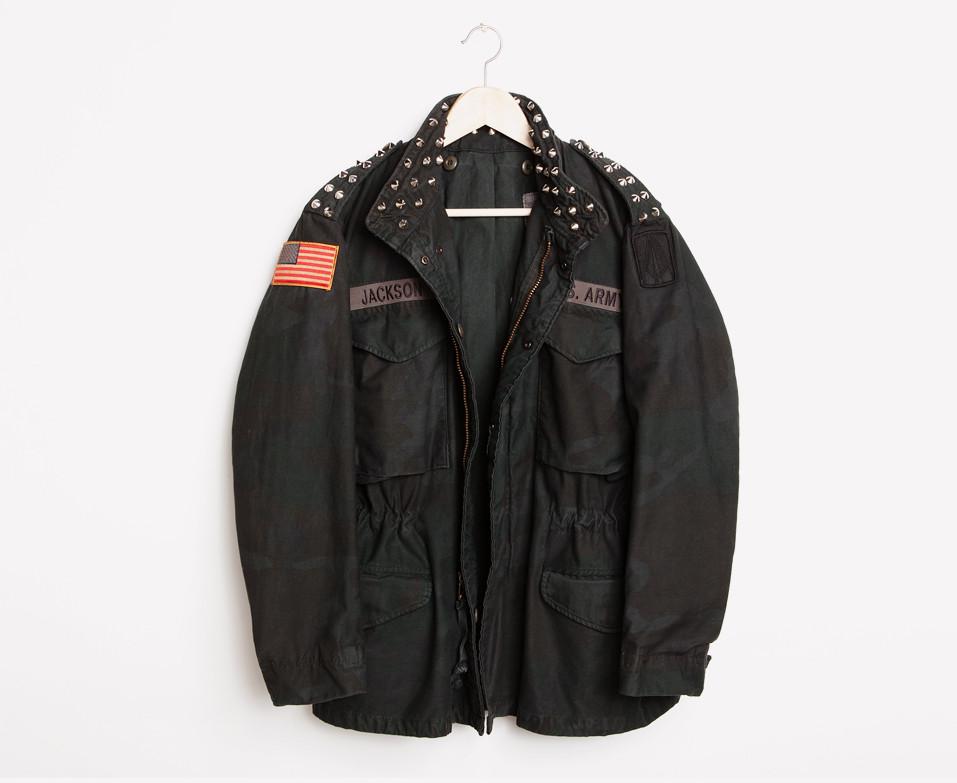 RWDZ Black Ops Camo Studded Coat | RUNWAYDREAMZ