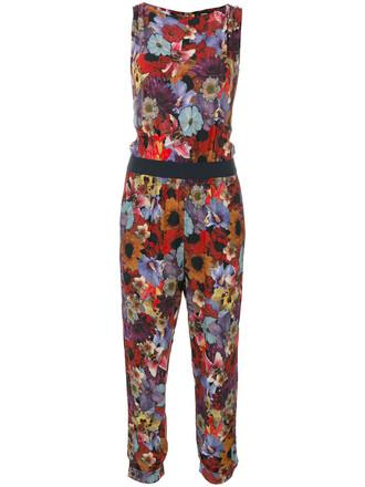 jumpsuit women floral print