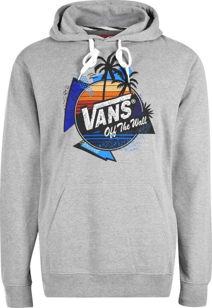 70ddd99653179a jacket vans hoodie grey vans clothing