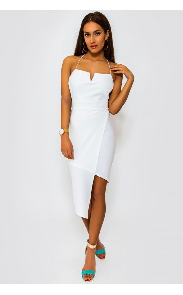 96ea3abbfac1 Coco White Backless Midi Dress - from The Fashion Bible UK