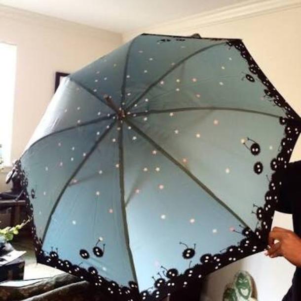 home accessory umbrella spirited away