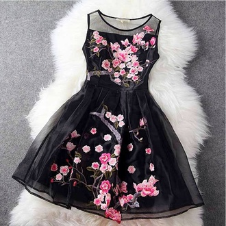 dress cute dress floral dress sleeveless fur style summer dress summer outfits spring outfits 2014 prom dresses girly fabulous dress