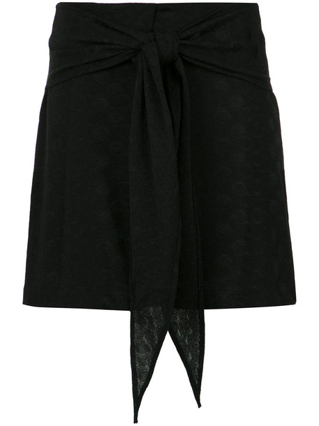 skirt women spandex black
