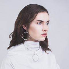 Thursday Sunday X Holly Ryan - Minimalist Hoop Earrings