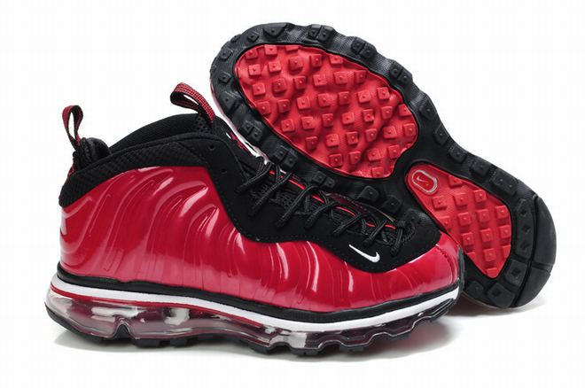 2012 new nike air foamposite One Max 2009 red/black women's -  $109.99