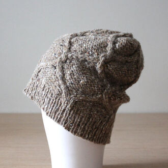 hat beanie tweed dia diamond cable wool hat mens merino wool beanie donegal speckle slouchy beanie chic sporty chic