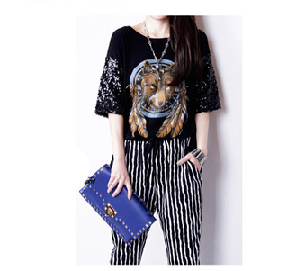 t-shirt shirt black cotton fashion summer hip hop rock girly one piece pants