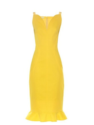 dress sleeveless dress sleeveless ruffle yellow