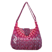 bag,handbag,mandala bags,hippie mandala handbag,fashion,latest handbags,shoulder bag,trendy,bags and purses,fashion and style,stylish bag,crossbody bag,long bag,pink bag
