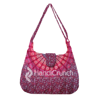 bag handbag mandala bags hippie mandala handbag fashion latest handbags shoulder bag trendy bags and purses fashion and style stylish bag crossbody bag long bag pink bag