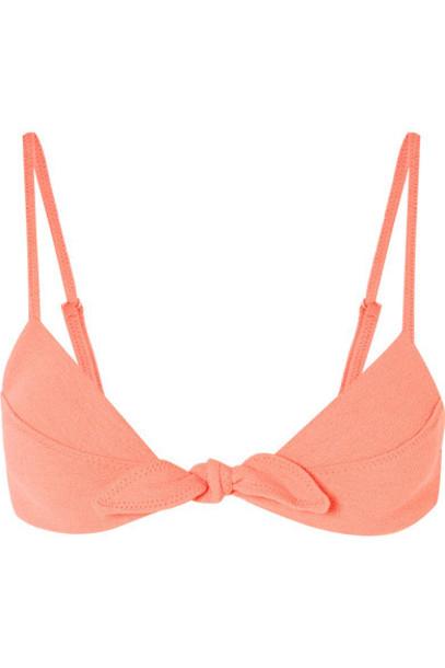 bikini bikini top coral swimwear