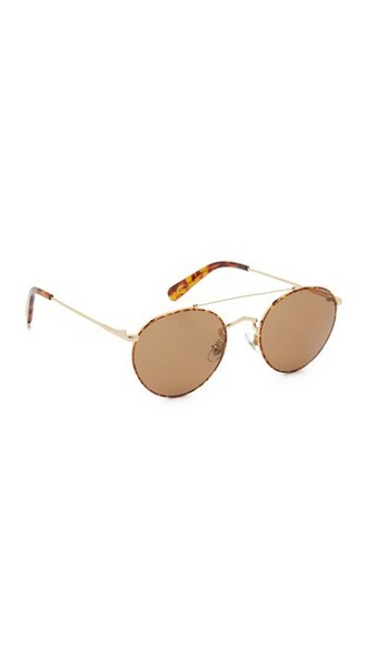 sunglasses gold bronze