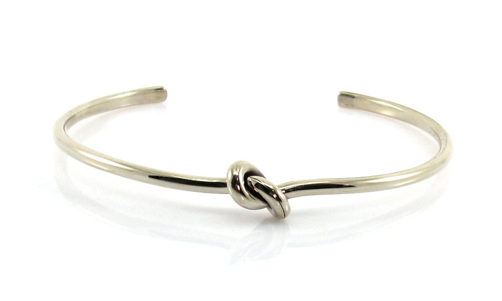 blank and silver products cable atlantic cuff front blue large bracelet