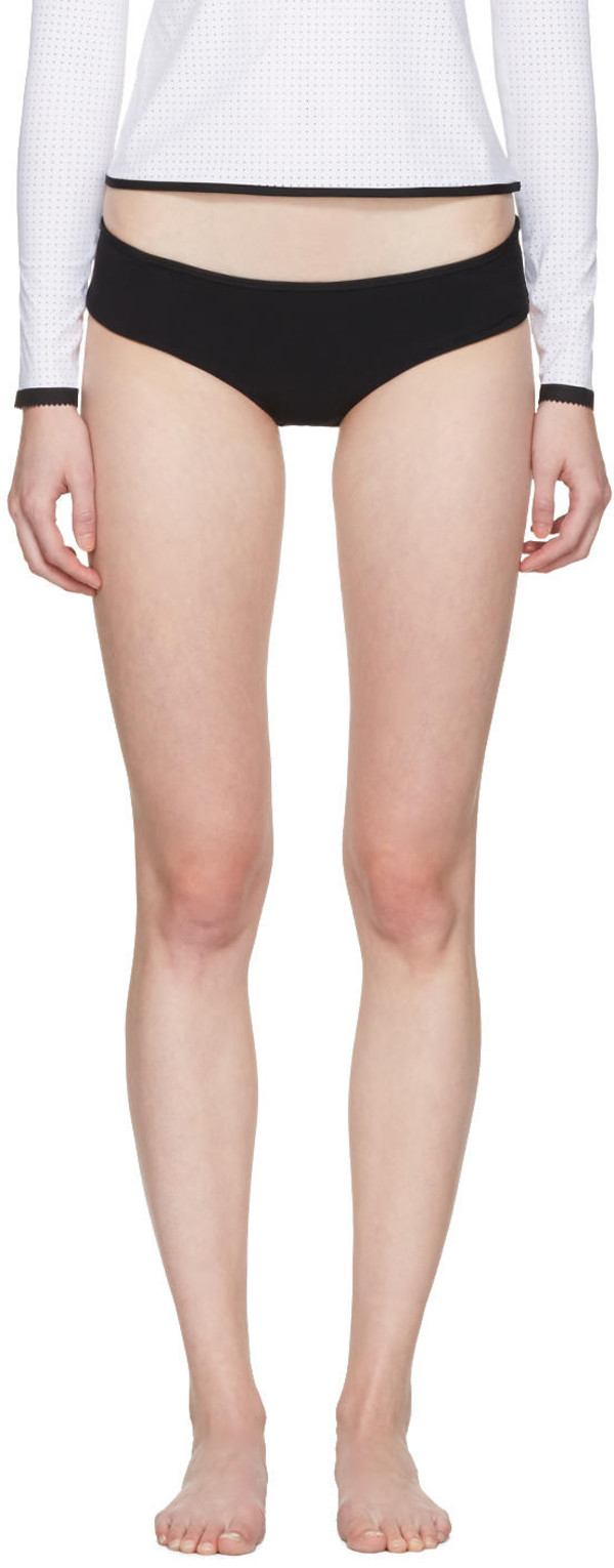 576950196d Ward Whillas Black and White Harrison Swimsuit - Wheretoget
