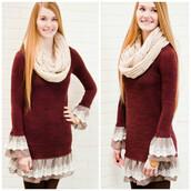 dress,ruffle,short dress,amazing,amazinglace.com,burgundy
