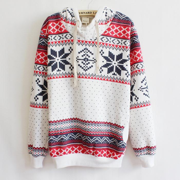 Thicker fleece sweater korean version of women