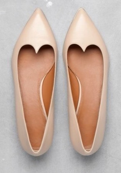 shoes flats nude shoes,