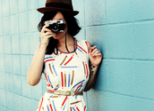 dress,patterned dress,colorful