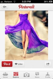 dress,sheer,prom,prom dress,purple dress,sleeveless