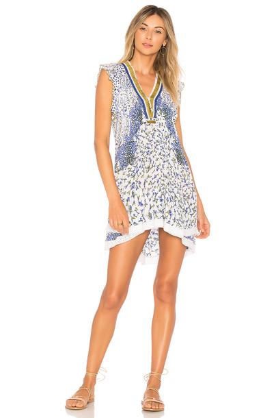 Poupette St Barth dress blue